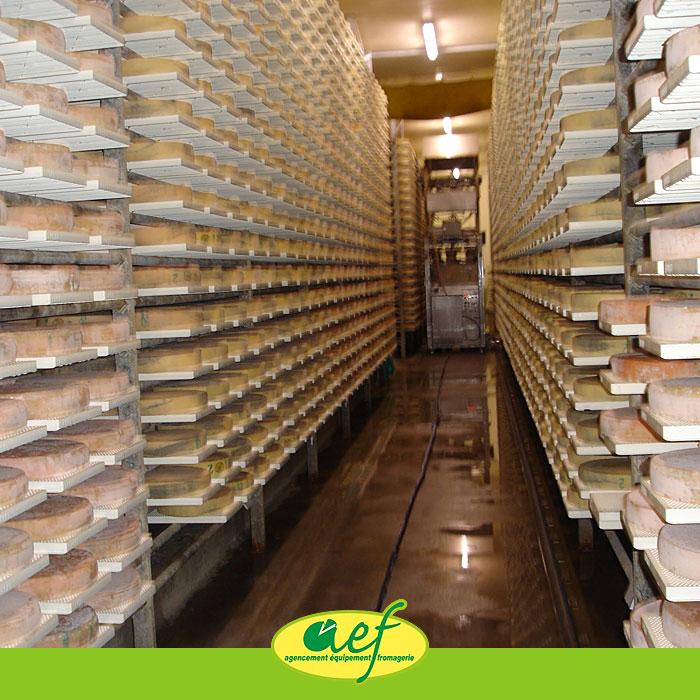 Cave d affinage acier galvanis affinage - Cave a fromage electrique ...